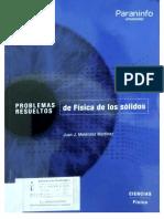 Problemas Resueltos de Física de Los Sólidos Juan J Melendez Martinez