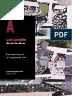 Luis Gordillo - Sesion Continua