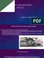 Electric Mechanic Bicycle