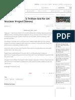 Hitachi Seeking ¥3 Trillion Aid for UK Nuclear Project (News) _ Nippon