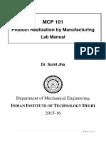 MCP 101 Lab Manual 2016