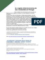 A legalidade e registo oficial de terreiros de Umbanda e Candomblé em Portugal