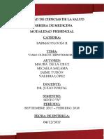 Hipertension Arterial - Farmacologia