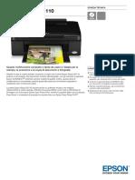 Epson Stylus SX110 Scheda Tecnica