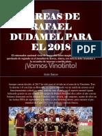 Tareas de Rafael Dudamel Para El 2018