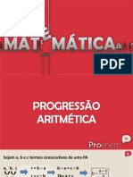 Progressao Aritmetica