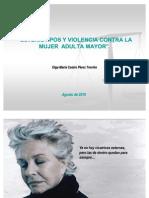 Violencia Familiar Contra La Mujer Adulta Mayor