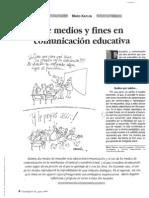 Kaplun - De Medios y Fines en Comunicacion Educativa