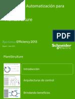 PlantStruxure Diseño de Redes Schneider