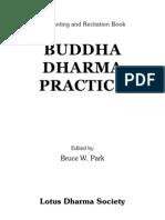 Buddha Dharma Practice
