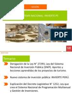 Diapos Clase i Proyectos Invierte Peru