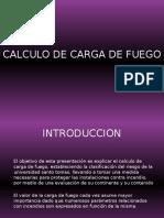 Presentacion_calculo de Carga de Fuego