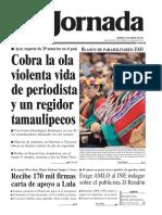 Porada La Jornada 14/01/2018