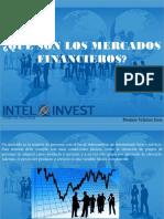 ¿Qué Son Los Mercados Financieros?