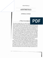A. SPEER - Aesthetics - Oxford Handbook of Medieval Philosophy