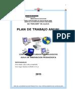 Plan Anual de Trabajo Aip 2015