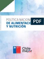 Bvs Política de Alimentación y Nutrición