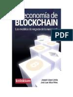 La Economia de Blockchain_ Los - Joaquin Lopez Lerida