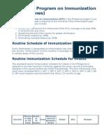 Expanded Program on Immunization