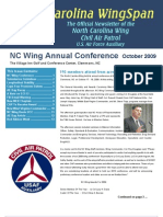 North Carolina Wing - Oct 2009