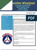 North Carolina Wing - Nov 2009