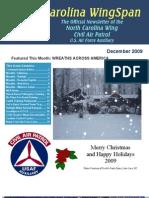 North Carolina Wing - Dec 2009