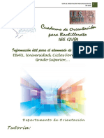 Cuaderno de Orientación 1º y 2º Bachillerato IES Guía - Curso 2017-2018