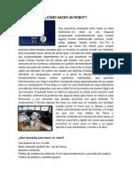 CÓMO HACER UN ROBOT.docx