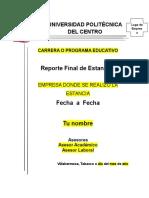Reporte Final de Estancias v2