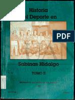 Historia Del Deporte en Sabinas Hidalgo n.l.