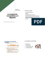 Competencia Imperfecta - Microeconomia