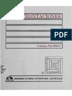 Confrontaciones Cristina Pacheco BAJO Azcapotzalco