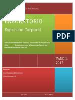 Proyecto-laboratorio de Expresión Corporal (Para Imprimir)