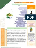 Tabla de Propiedades de Los Alimentos