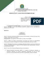Resolução 13 - Regimento MEU