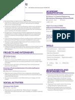 Resume Mu Sigma v3 8 Slash 25