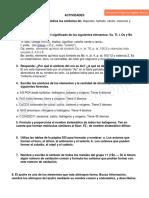 ACTIVIDADES DE QUÍMICA -ALEJANDRA 2° B