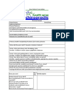 new patient form italian