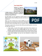 passive house case study brief