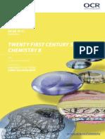 OCR GCSE Chemistry B Specification
