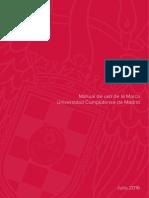 Manual de Uso de La Marca UCM