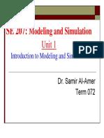 SE 207 Term072 Unit1 Introduction