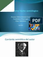 Presentacion de Semiótica.
