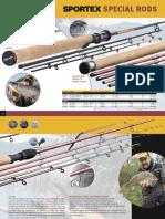 Sportex Special Rods