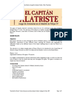 El Capitan Alatriste Rules Translation