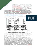 Ward Leonard control system.docx