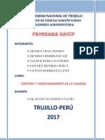 Programa HACCP