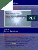 C11 Redox Reactions