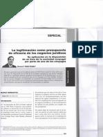 La legitimacion como presupuesto de eficacia de los negocios juridicos - Giovanni PRIORI POSADA.pdf