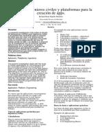 Investigacion Acerca de Aplicaciones Ár Ingenieros Civiles